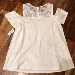 c1db0a4f40b6de Old Navy Tops - Old Navy Cold shoulder Top